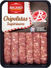 Chipolatas Label Rouge x6 Bigard